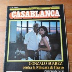 Cine: PAPELES DE CINE. CASABLANCA. N.39. Lote 204120753