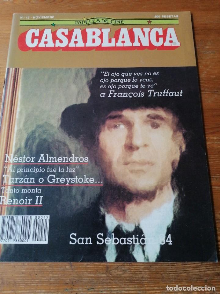 PAPELES DE CINE. CASABLANCA. N.45 (Cine - Revistas - Papeles de cine)