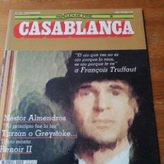 Cine: PAPELES DE CINE. CASABLANCA. N.45. Lote 204120967