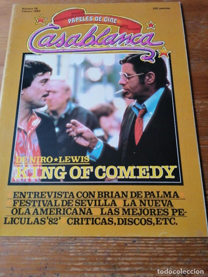 PAPELES DE CINE. CASABLANCA. N.26 (Cine - Revistas - Papeles de cine)