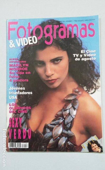 REVISTA FOTOGRAMAS & VIDEO. Nº 1788. AÑO XLV. AGOSTO 1992. TDKC55 (Cine - Revistas - Fotogramas)