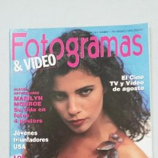 Cine: REVISTA FOTOGRAMAS & VIDEO. Nº 1788. AÑO XLV. AGOSTO 1992. TDKC55. Lote 222678311