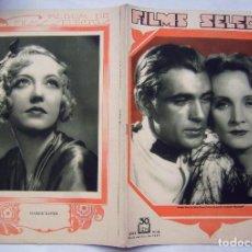 Cine: GARY COOPER . REVISTA FILMS SELECTOS. 1931.. Lote 204223597