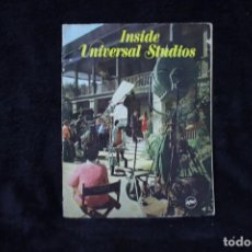 Cine: INSIDE UNIVERSAL STUDIOS REVISTA SOBRE LOS ESTUDIOS UNIVERSAL AÑOS 60 CINE VINTAGE. Lote 204241405