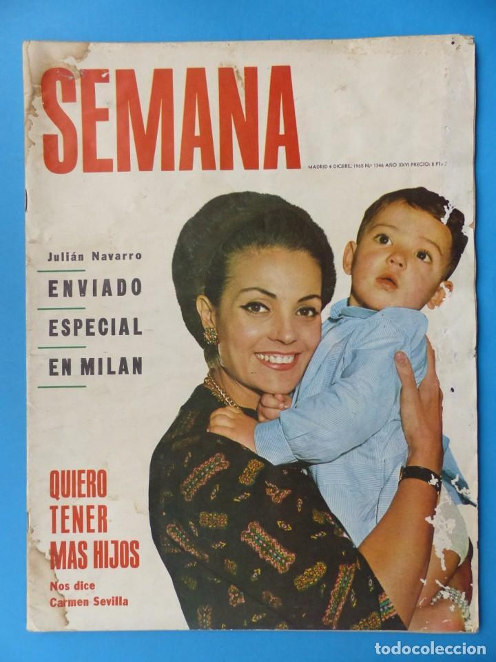 Cine: CARMEN SEVILLA - 14 REVISTAS TODAS PORTADAS DE LA ACTRIZ, VER DESCRIPCION Y FOTOS ADICIONALES - Foto 4 - 204248453