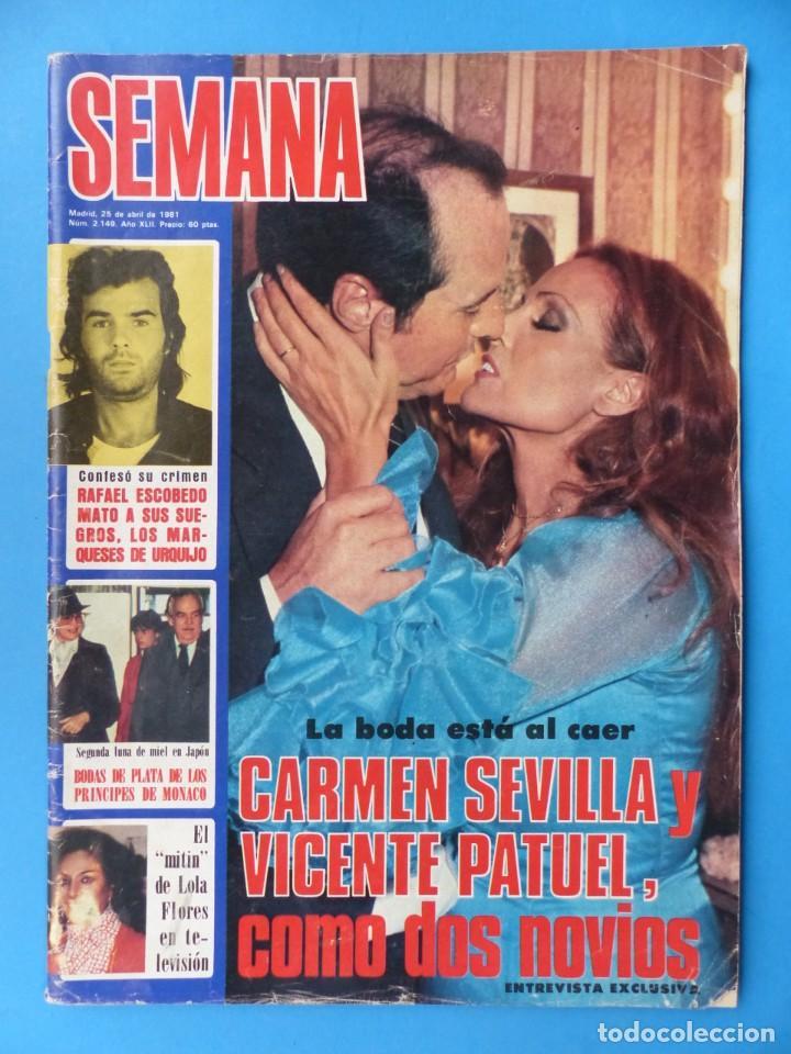 Cine: CARMEN SEVILLA - 14 REVISTAS TODAS PORTADAS DE LA ACTRIZ, VER DESCRIPCION Y FOTOS ADICIONALES - Foto 5 - 204248453