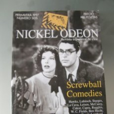 Cine: NICKEL ODEON N 6 SCREWBALL COMEDIES /BPRIMAVERA 1997. Lote 204323920