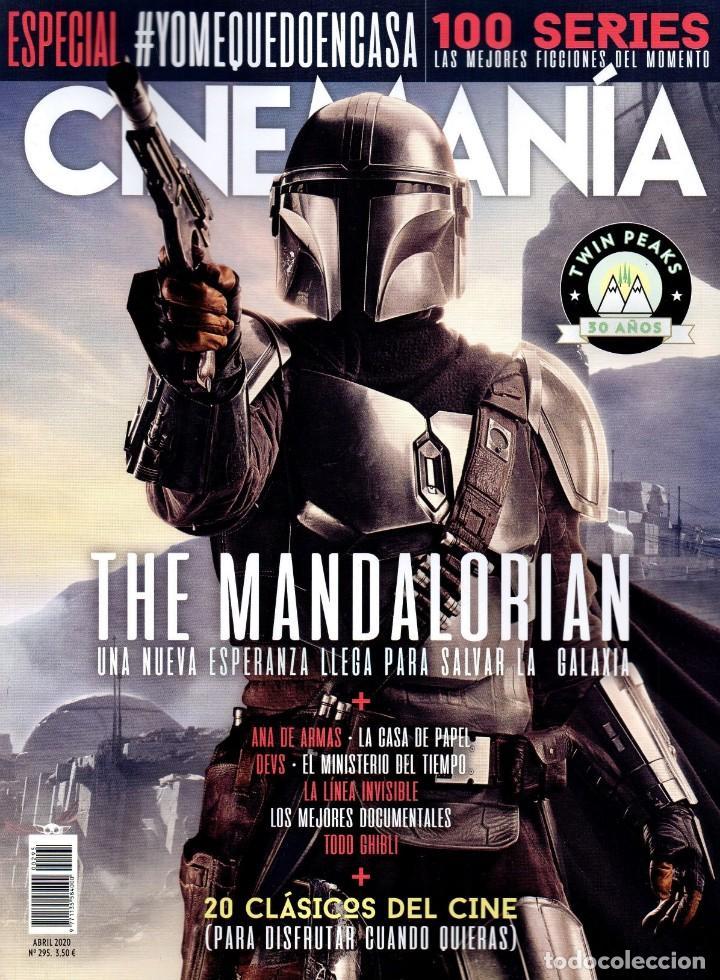 CINEMANIA N. 295 ABRIL 2020 - EN PORTADA: THE MANDALORIAN (NUEVA) (Cine - Revistas - Cinemanía)