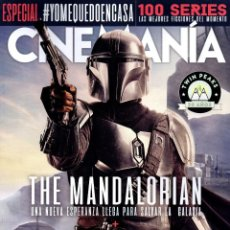 Cine: CINEMANIA N. 295 ABRIL 2020 - EN PORTADA: THE MANDALORIAN (NUEVA). Lote 204358221