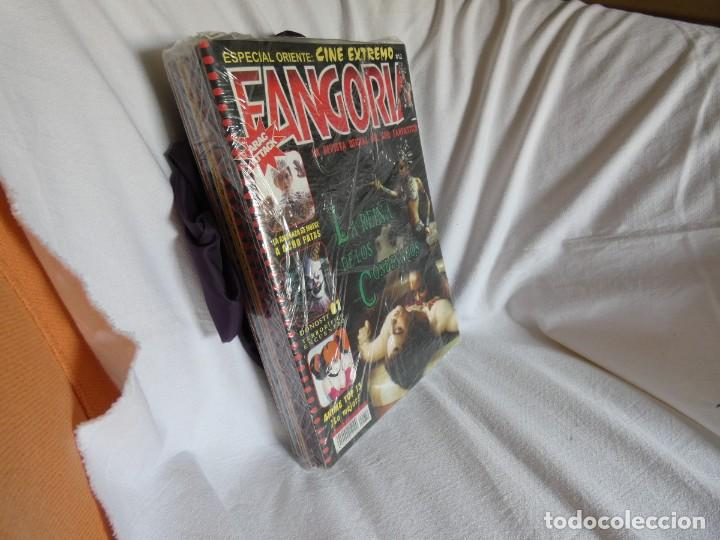Cine: REVISTA FANGORIA EDICION ESPAÑOLA SEGUNDA EPOCA COLECCION COMPLETA - 12 NUMEROS + 9 CD ROM - Foto 2 - 204403512