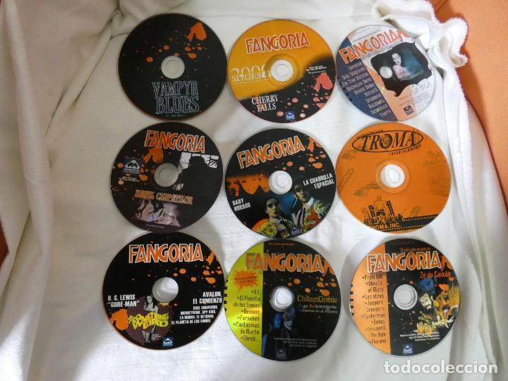 Cine: REVISTA FANGORIA EDICION ESPAÑOLA SEGUNDA EPOCA COLECCION COMPLETA - 12 NUMEROS + 9 CD ROM - Foto 3 - 204403512