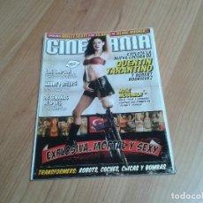 Cine: CINEMANÍA -- Nº 142 -- JULIO 2007 -- QUENTIN TARANTINO, HARRY POTTER, PENÉLOPE CRUZ, RIDLEY SCOTT. Lote 204439478