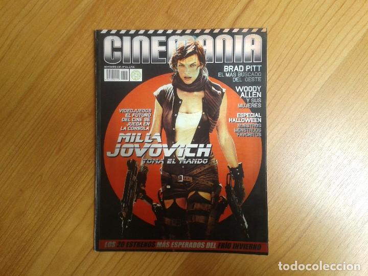 CINEMANÍA -- Nº 146 -- NOVIEMBRE 2007 -- MILLA JOVOVICH, KERI RUSSELL, PERSÉPOLIS, ZETA, WOODY ALLEN (Cine - Revistas - Cinemanía)