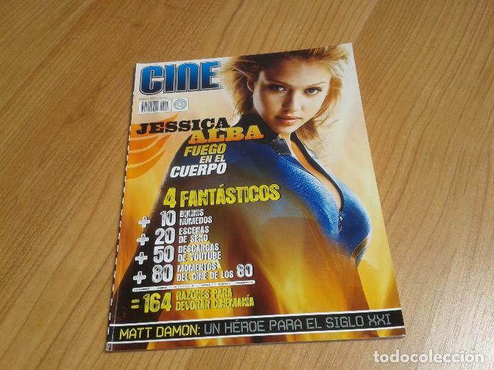 CINEMANÍA -- Nº 143 -- AGOSTO 2007 -- JESSICA ALBA, MATT DAMON,JULIO MEDEM, CINE AÑOS 80, GOONIES (Cine - Revistas - Cinemanía)