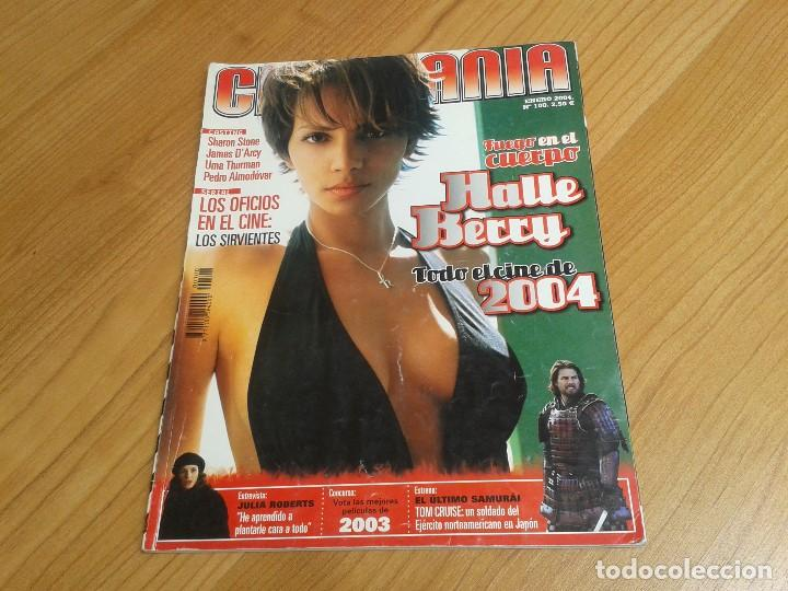 CINEMANÍA -- Nº 100 -- ENERO 2004 -- KILL BILL, SHARON STONE, LUCÍA JIMÉNEZ, ALMODÓVAR, GOYA 2003 (Cine - Revistas - Cinemanía)