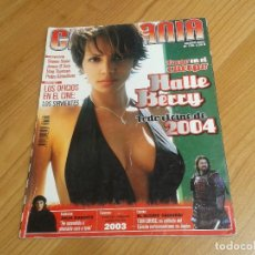 Cine: CINEMANÍA -- Nº 100 -- ENERO 2004 -- KILL BILL, SHARON STONE, LUCÍA JIMÉNEZ, ALMODÓVAR, GOYA 2003. Lote 204445360