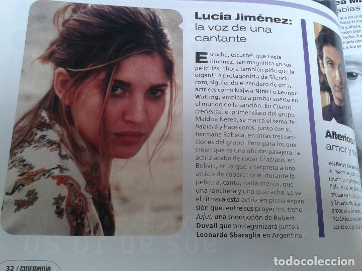Cine: Cinemanía -- nº 100 -- Enero 2004 -- Kill Bill, Sharon Stone, Lucía Jiménez, Almodóvar, Goya 2003 - Foto 6 - 204445360