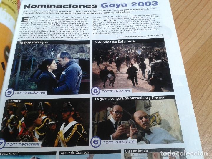 Cine: Cinemanía -- nº 100 -- Enero 2004 -- Kill Bill, Sharon Stone, Lucía Jiménez, Almodóvar, Goya 2003 - Foto 9 - 204445360
