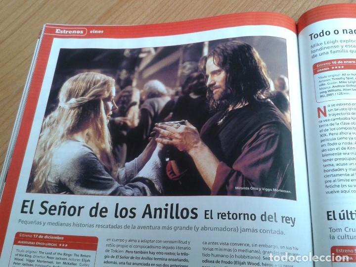 Cine: Cinemanía -- nº 100 -- Enero 2004 -- Kill Bill, Sharon Stone, Lucía Jiménez, Almodóvar, Goya 2003 - Foto 23 - 204445360