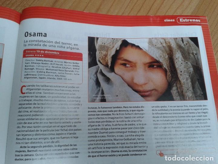 Cine: Cinemanía -- nº 100 -- Enero 2004 -- Kill Bill, Sharon Stone, Lucía Jiménez, Almodóvar, Goya 2003 - Foto 24 - 204445360