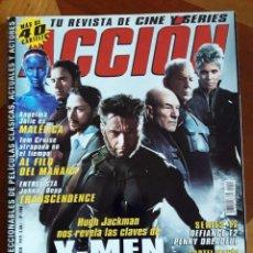 Cine: X-MEN REVISTA ACCIÓN CONTIENE LOS PÓSTERS - FRANKENSTEIN *GASTOS DE ENVÍO 6 EUROS*. Lote 204643812