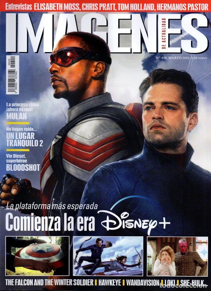 IMAGENES DE ACTUALIDAD N. 410 MARZO 2020 - EN PORTADA: COMIENZA LA ERA DISNEY (NUEVA) (Cine - Revistas - Imágenes de la actualidad)