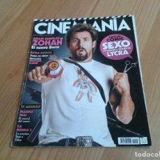 Cine: CINEMANÍA -- Nº 155 -- AGOSTO 2008 -- ADAM SANDLER, CELULOIDE OLÍMPICO, MICHAEL CAINE, CÓMIC Y CINE. Lote 204699788