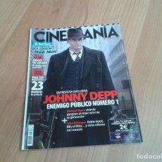 Cine: CINEMANÍA -- Nº 167 -- AGOSTO 2009 -- JOHNNY DEEP, MICHAEL JACKSON, MAD MEN, MICHAEL MANN. Lote 204700353
