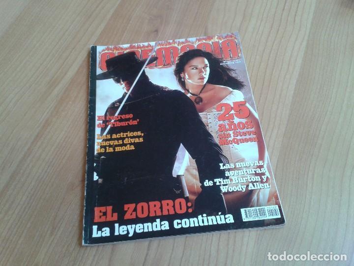 CINEMANÍA -- Nº 122 -- NOVIEMBRE 2005 -- EL ZORRO, STEVE MCQUEEN, CAMARÓN, PASOLINI, OSCAR JAENADA (Cine - Revistas - Cinemanía)