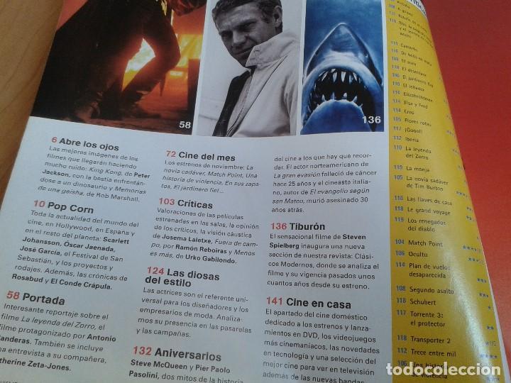 Cine: Cinemanía -- nº 122 -- Noviembre 2005 -- El Zorro, Steve McQueen, Camarón, Pasolini, Oscar Jaenada - Foto 2 - 204701018