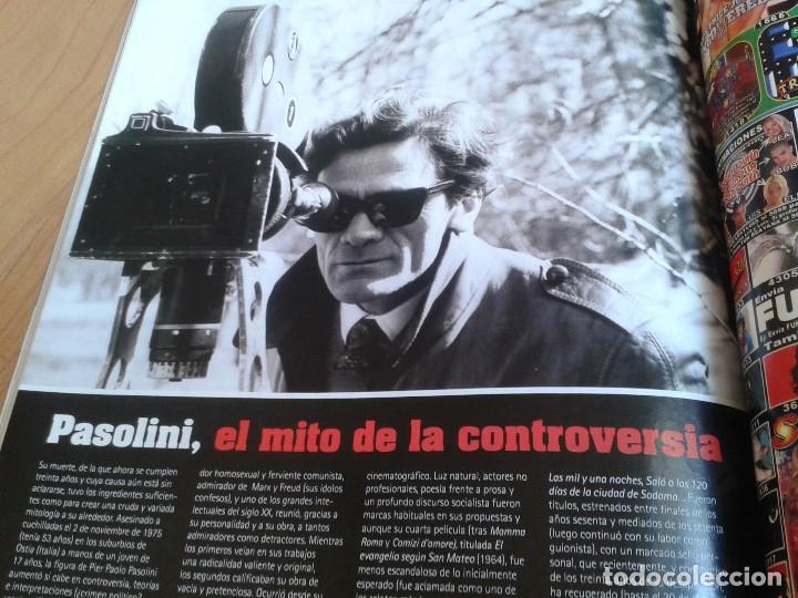 Cine: Cinemanía -- nº 122 -- Noviembre 2005 -- El Zorro, Steve McQueen, Camarón, Pasolini, Oscar Jaenada - Foto 13 - 204701018