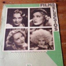Cine: FILMS SELECTOS. AÑO IV. N. 1933.N.131. Lote 204749633