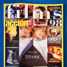 Cine: FILMS 1998 - ESPECIAL ACCION. Lote 204811792