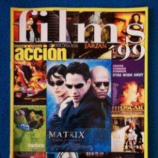 Cine: LAS PELICULAS DE 1999 - ESPECIAL ACCION. Lote 204812660