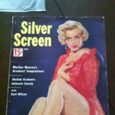 Cine: MARILYN MONROE- SILVER SCREEN 1954 - INCOMPLETA (FALTAN 6 PAR. DEL TOTAL DE 76 PAG.). Lote 268857024
