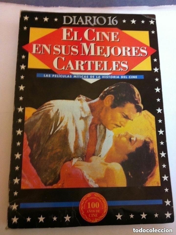 Cine: el cine en sus mejores carteles - 153 láminas - muy bien conservado- 30x20 cm - Foto 2 - 204976277