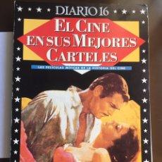 Cine: EL CINE EN SUS MEJORES CARTELES 100 AÑOS DE CINE DIARIO 16 1995 33 FASCÍCULOS EN BUEN ESTADO. Lote 205264978