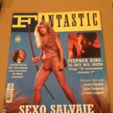 Cinema: FANTASTIC MAGAZINE SEGUNDA EPOCA 15 STEFHEN KING , SEXO SALVAJE ,. Lote 205301803