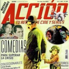 Cine: ACCION N. 2005 MAYO 2020 - EN PORTADA: LAS MEJORES COMEDIAS PARA SUPERAR LA CRISIS (NUEVA). Lote 205312335