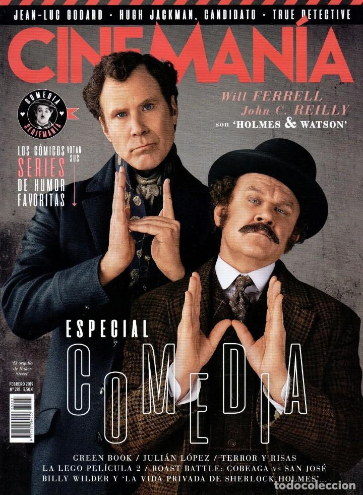 CINEMANIA N. 281 FEBRERO 2019 - EN PORTADA: ESPECIAL COMEDIA (NUEVA) (Cine - Revistas - Cinemanía)