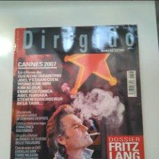 Cine: REVISTA EXTRA DIRIGIDO Nº368- DOSSIER FRITZ LANG (2ªPARTE). MUY BUEN ESTADO. Lote 205325528