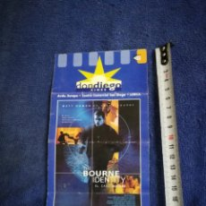 Cine: FOLLETO CINES DON DIEGO 2002. Lote 205365901