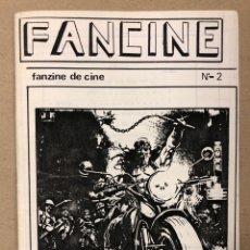 Cine: FANCINE N° 2 (MADRID 1983). HISTÓRICO FANZINE ORIGINAL DE CINE: TRILOGÍA STAR WARS, ZELIG, HERMANOS. Lote 205367667