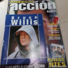 Cine: MEL GIBSON SPIDERMAN BRUCE WILLIS CHOW YUN FAT PALTROW ZEMECKIS MCDOWELL REVISTA ACCION Nº 105. Lote 205447560