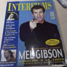 Cine: MEL GIBSON BERGMAN BRAVEHEART CINE MUSICAL INTERFILMS Nº 165 2002. Lote 205449271