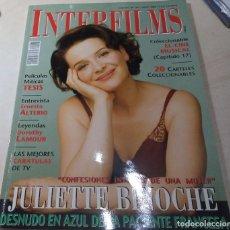 Cine: JULIETTE BINOCHE TESIS ALTERIO LAMOUR INTERFILMS Nº 164 2002. Lote 205449453