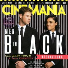 Cine: CINEMANIA N. 285 JUNIO 2019 - EN PORTADA: MEN IN BLACK INTERNATIONAL (NUEVA). Lote 205529356