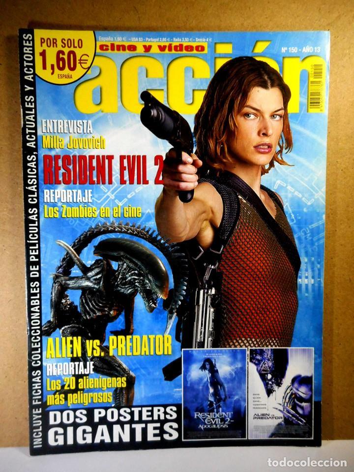 ACCIÓN Nº 150 (Cine - Revistas - Acción)