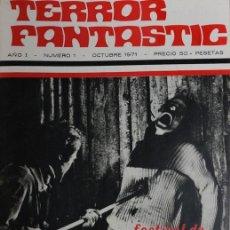 Cine: TERROR FANTASTIC.12 REVISTAS 1971-72 TOMO I Y II. Lote 205847966