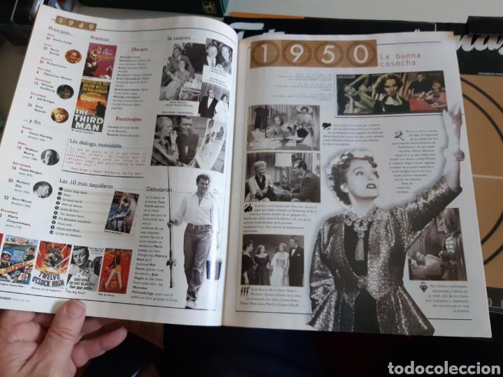 Cine: Lote Fotogramas 3 Carpetas Libro de oro 50 años de cine y homenaje al star system 1 y 2 beauties BBK - Foto 3 - 206125300